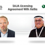 SAJA Licensing Agreement with Xellia